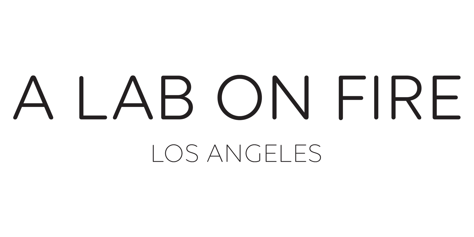 A Lab on Fire Logo