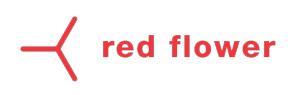 Red Flower Organic Perfume Logo